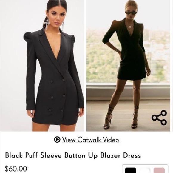 4c3bb8d89f226 PrettyLittleThing Dresses | Mens Styler Blazer Count Dress | Poshmark